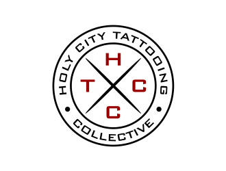 Holy City Tattooing Collective logo design