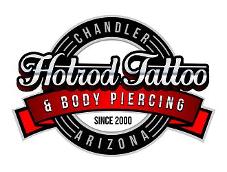 Hotrod Tattoo logo design