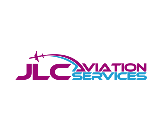 JlC Aviation Services logo design