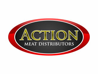Action Meat Distributors, Inc. logo winner