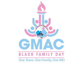 GMAC Black Family Day logo design