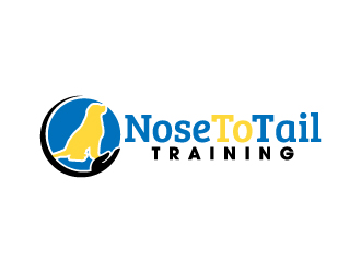 Nose To Tail Training Logo Design
