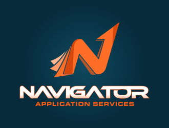 Navigator Application Services logo design