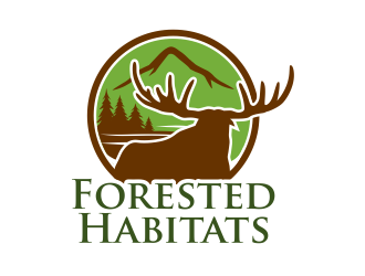 Forested Habitats logo design