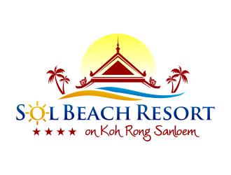 Sol Beach Resort logo design - 48HoursLogo.com