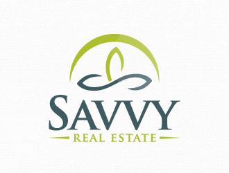 Savvy Real Estate LLc logo design