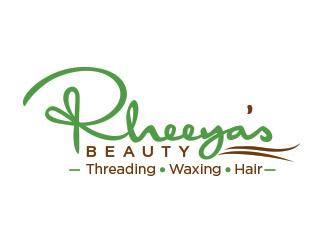 Rheeya's Beauty logo design