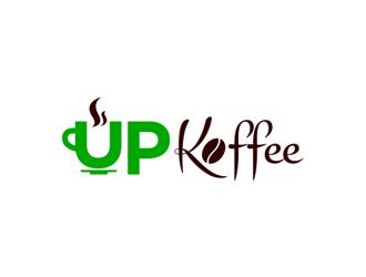 Up Koffee logo design