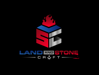 LAND AND STONE CRAFT logo winner