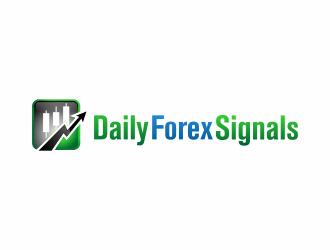 Daily Forex Signals logo design - 48HoursLogo.com