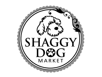 Shaggy Dog Market logo design winner