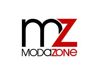 ModaZone logo design