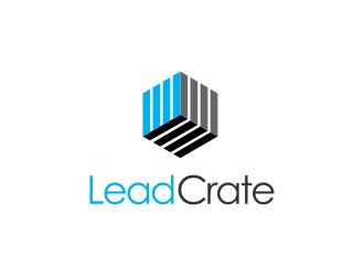 LeadCrate logo design