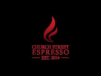Church Street Espresso logo design