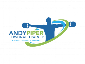 andy piper personal trainer logo design 48hourslogo com