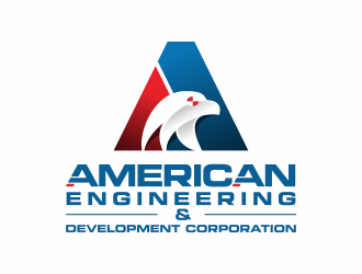 american engineering development corporation logo design hourslogocom
