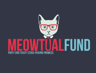 Meowtual Fund logo design