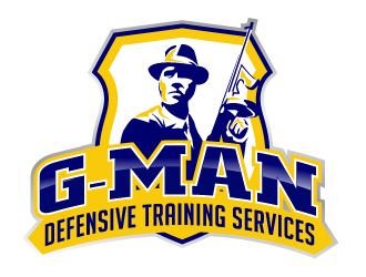 G-Man Defensive Training Services logo design