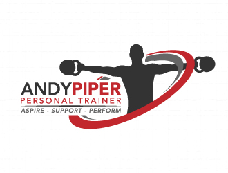 andy piper personal trainer logo design  48hourslogo