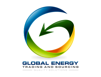 Global Energy Trading and Sourcing logo design
