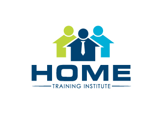 home training institute logo design 48hourslogocom