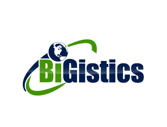 BiGistics logo design