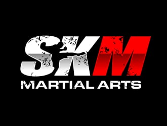 SKM Martial Arts logo design
