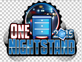 One Nightstand 2015 logo design
