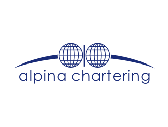 Alpina Chartering ApS logo design