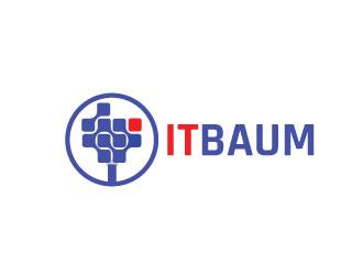 itbaum logo design