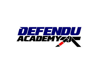 Defendu Academy logo design