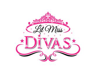 Lil Miss Divas logo design