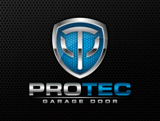 ProTec Garage Door logo design