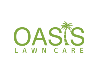 Oasis Lawn Care logo design
