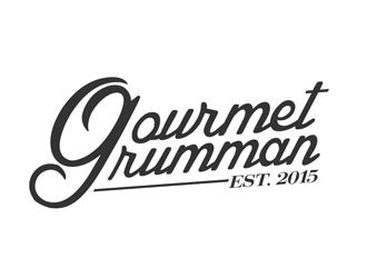 Gourmet Grumman logo design