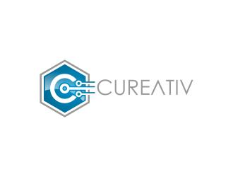 Cureativ logo design
