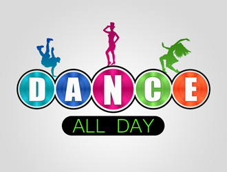 Dance All Day logo design