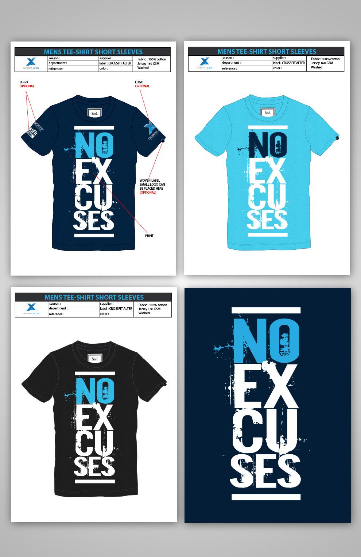 Shirt design concepts - Crossfit Alter Member T Shirt Logo Design Concepts 3