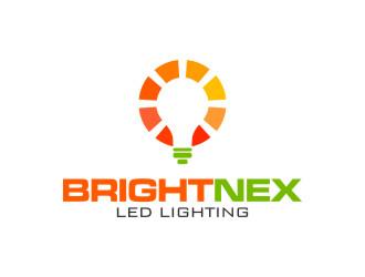 BrightNex logo design