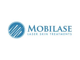 Mobilase logo design