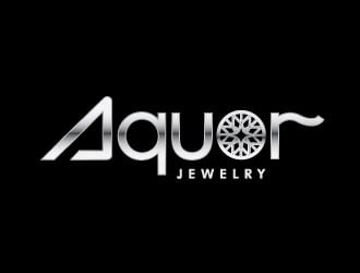 Aquor Jewelry logo design