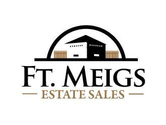 Ft. Meigs Estate Sales logo design