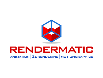 Rendermatic logo design
