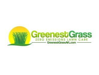 Greenest Grass LLC logo design
