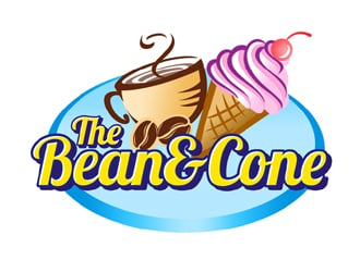 The Bean & Cone logo design