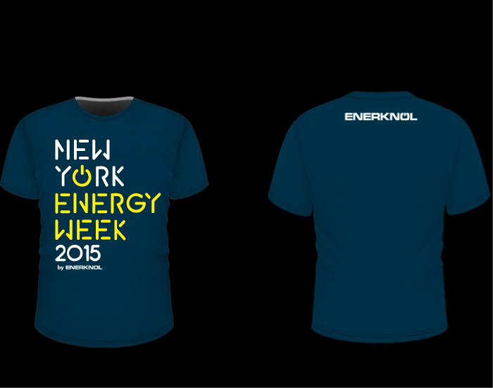 Updated/refreshed T-Shirt Design for 2015 Energy Conference logo design