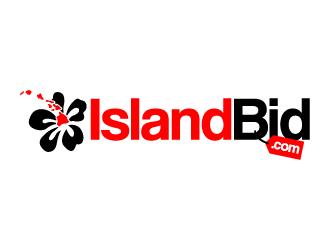 IslandBid.com logo design