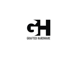 Grafted Hardware logo design - 48HoursLogo.com