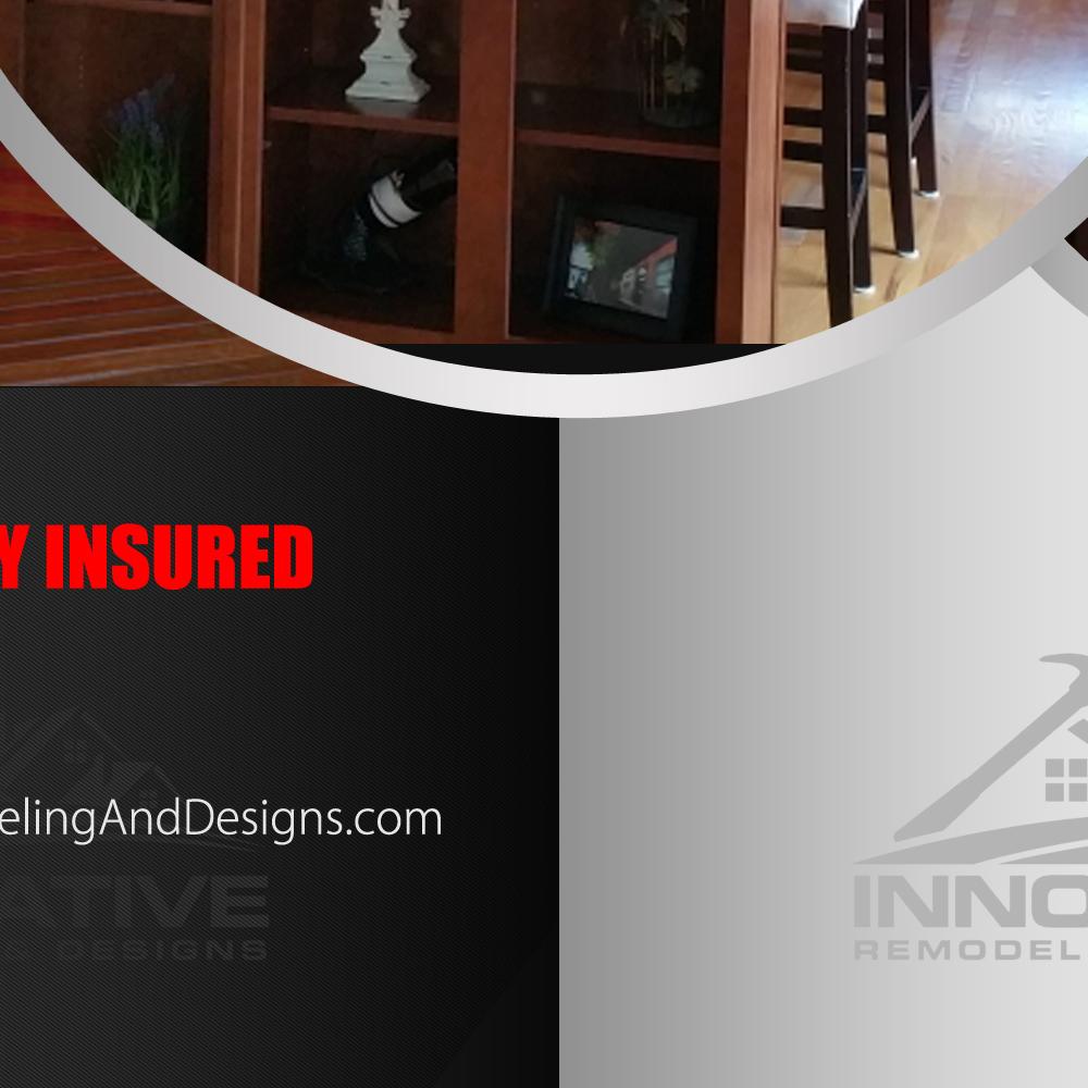 INNOVATIVE REMODELING & DESIGNS logo design