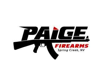 Paige Firearms logo design